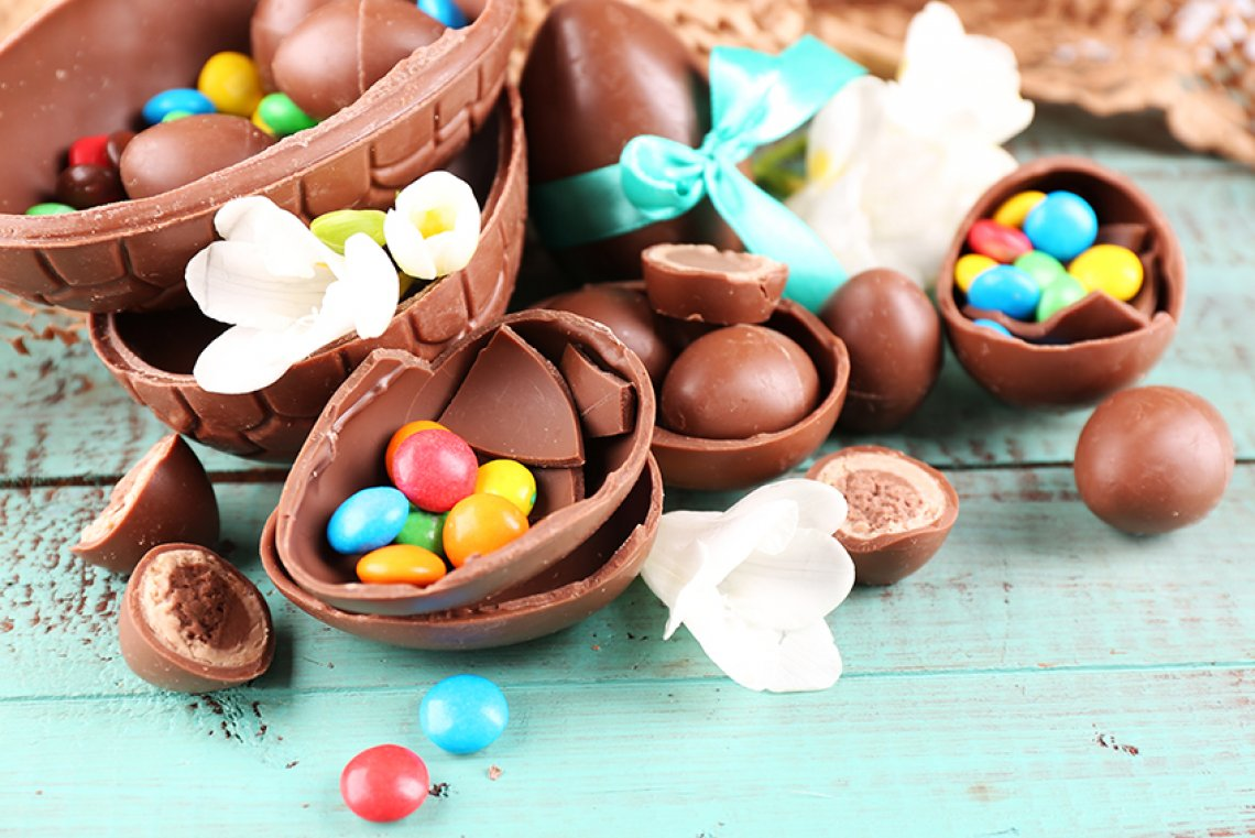 origini uova di cioccolato